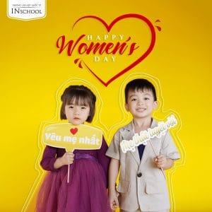 HAPPY WOMEN'S DAY CHÚC MỪNG NGÀY QUỐC TẾ PHỤ NỮ 8-3