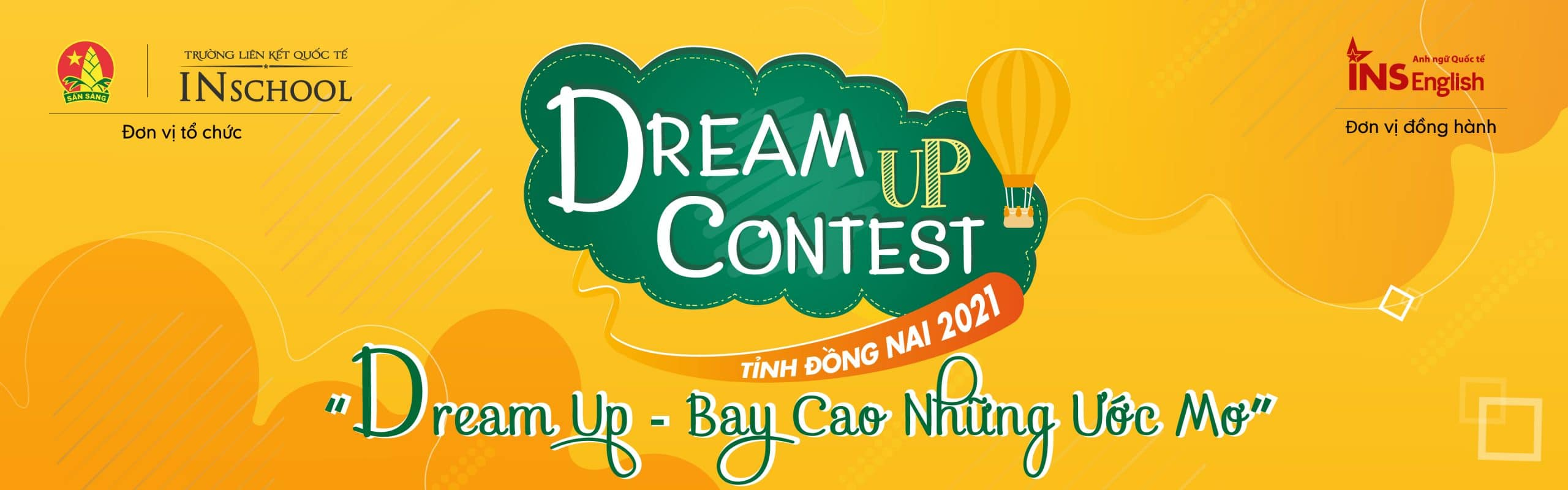 "DREAM UP CONTEST 2021 ""Bay cao những ước mơ"""