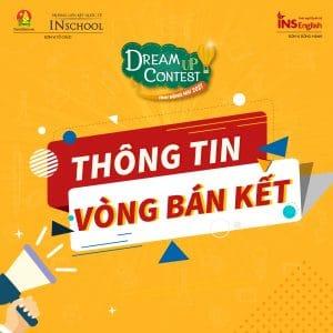 THÔNG TIN VÒNG BÁN KẾT – DREAM UP CONTEST 2021